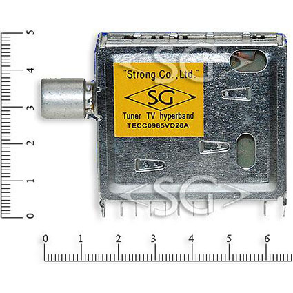 что тюнер TECC0985VD28A с гипердиапазоном, - имеется подпись на корпусе.  А как быть с теми где нет заветной записи?